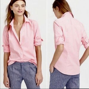 J. Crew Slim Perfect Shirt in Stretch Cotton